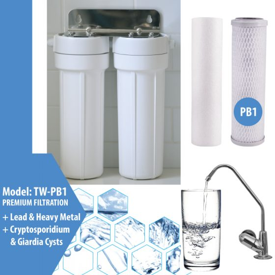 Cooee Water Twin Undersink Pb1 Filter System